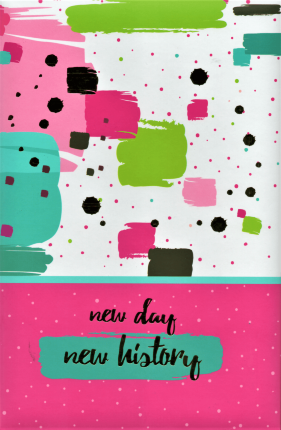 "Блокнот-планер ""New day, new history"". . Переплет —"