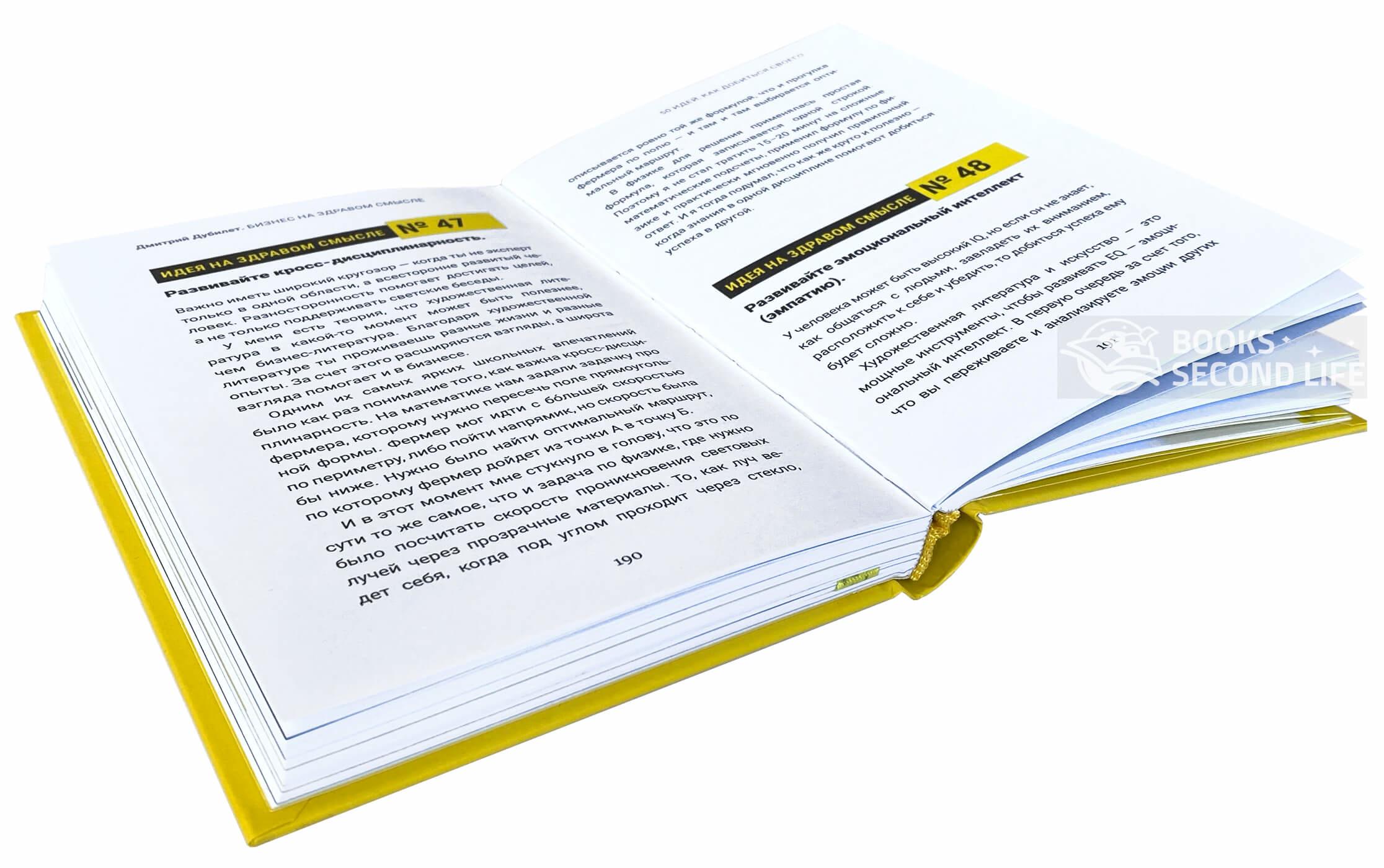 Дмитрий Дубилет. Бизнес на здравом смысле. 50 идей, как добиться своего. Автор — Тимур Ворона. Переплет —