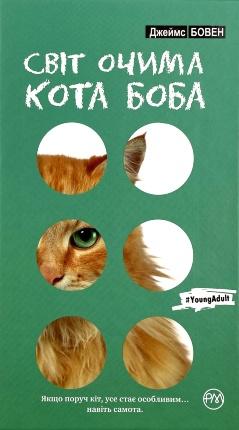 Світ очима кота Боба. Автор — Джеймс Бовен. Обложка —